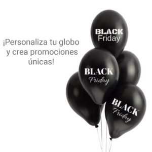 Black Friday en Globos Publicitarios